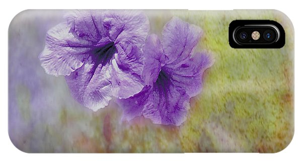 IPhone Case featuring the photograph Mexican Petunia by Judy Hall-Folde