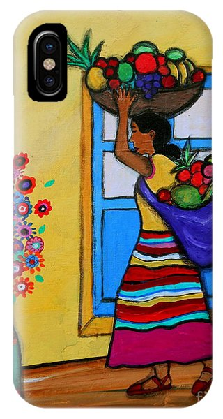 Mexican Street Vendor IPhone Case