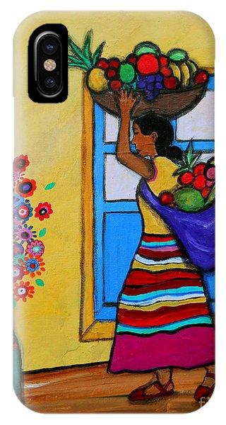 Mexican Street Vendor IPhone Case