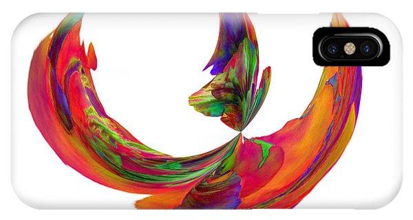 Mexico Hibiscus Series 5 IPhone Case