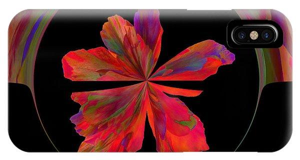 Mexico Hibiscus Series 6 IPhone Case