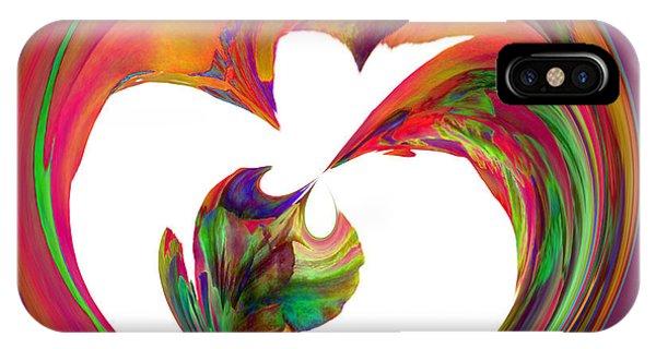 Mexico Hibiscus Series 7 IPhone Case