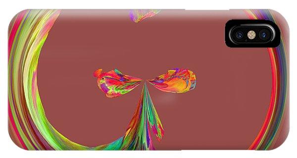 Mexico Hibiscus Series 9 IPhone Case