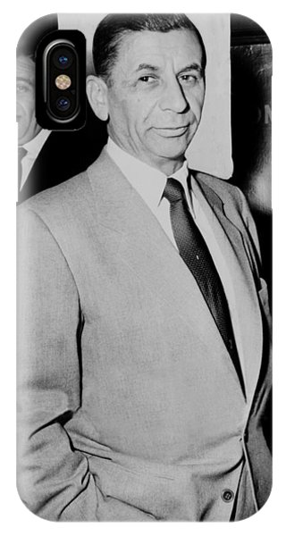 Meyer Lansky - The Mob's Accountant 1957 IPhone Case