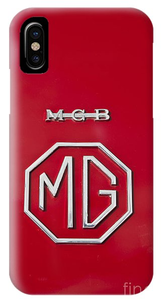 Mg Badge 1 IPhone Case