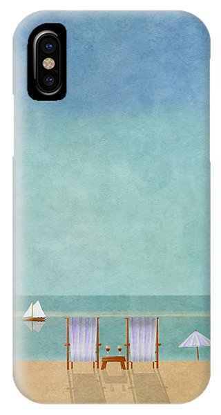 Minimal iPhone Case - Mgl - Bathers 02 by MGL Meiklejohn Graphics Licensing