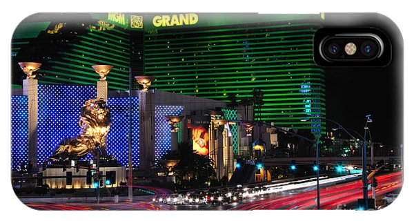 Mgm Grand Hotel And Casino IPhone Case