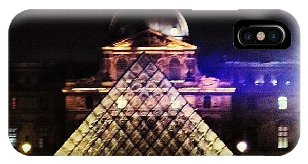 Picoftheday iPhone Case - #mgmarts #louvre #paris #france #europe by Marianna Mills