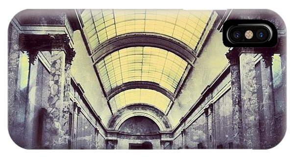 Picoftheday iPhone Case - #mgmarts #paris #france #europe #louvre by Marianna Mills