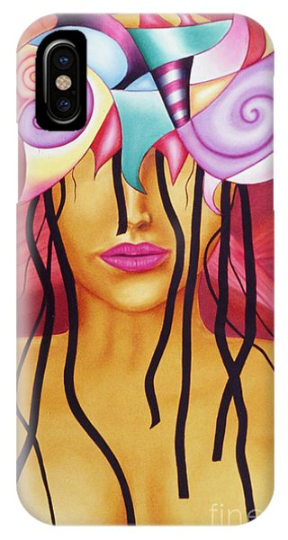 Mia Phone Case by Raul Rodriguez