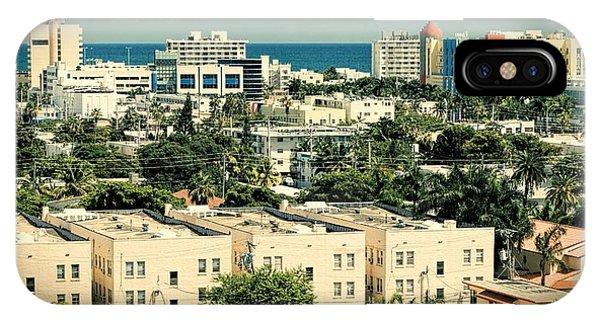 Miami Beach-0156 IPhone Case