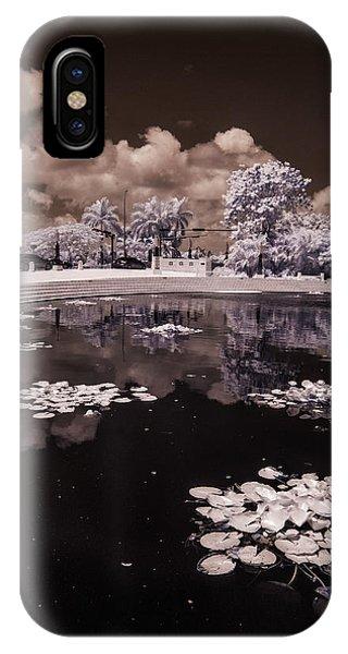 Miami Beach Lake IPhone Case