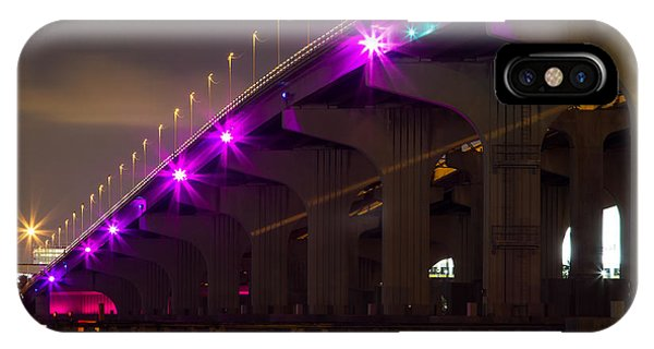 Miami Macarthur Causeway Bridge IPhone Case