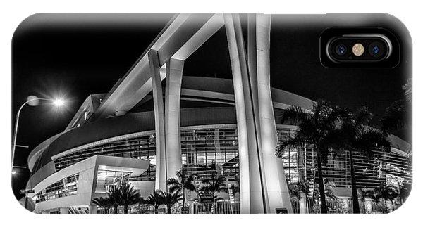 Miami Marlins Park Stadium IPhone Case