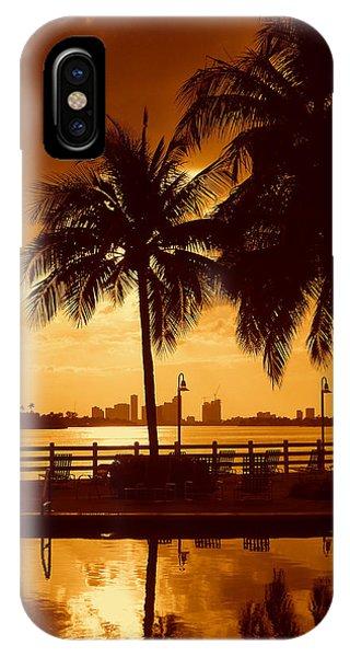 Miami South Beach Romance II IPhone Case