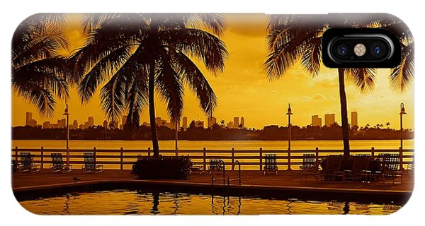 Miami South Beach Romance IPhone Case