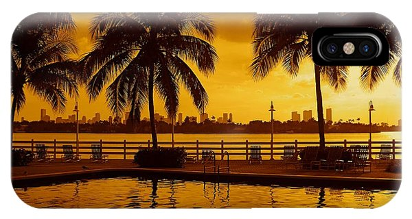Miami South Beach Romance IPhone Case
