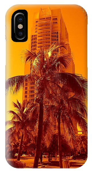 Miami South Pointe Iv IPhone Case