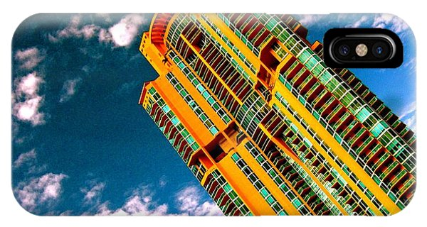 Miami South Pointe Highrise IPhone Case