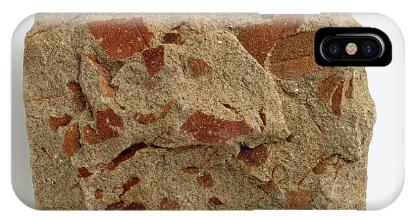 Oxide iPhone Case - Micaceous Sandstone With Iron Oxide by Dorling Kindersley/uig