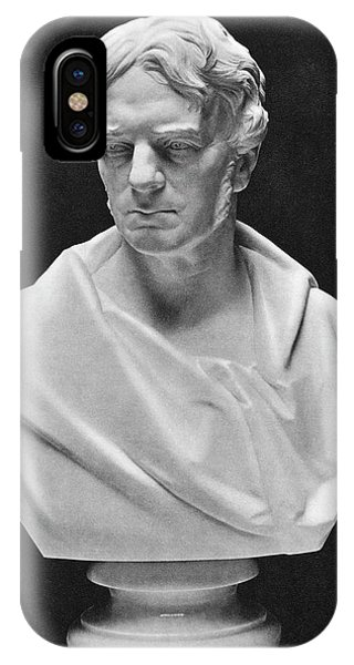 Michael Faraday Bust IPhone Case