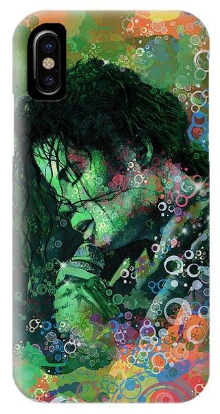 Michael Jackson iPhone Case - Michael Jackson 15 by Bekim Art