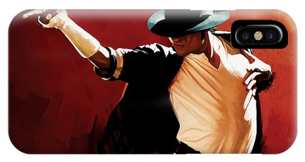 Michael Jackson Artwork 4 IPhone Case