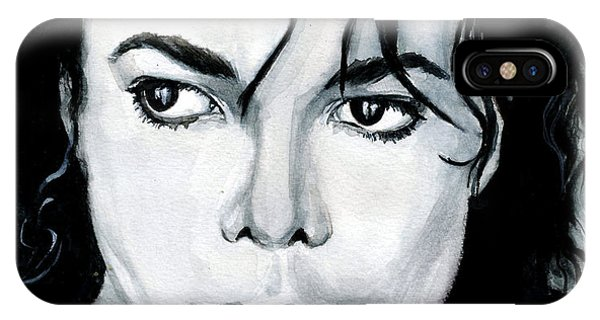 Michael Jackson Portrait IPhone Case