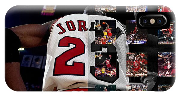 Michael iPhone Case - Michael Jordan by Joe Hamilton