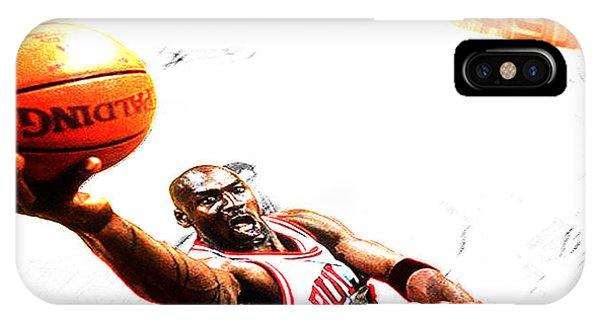 Michael Jordan Lift Off IPhone Case