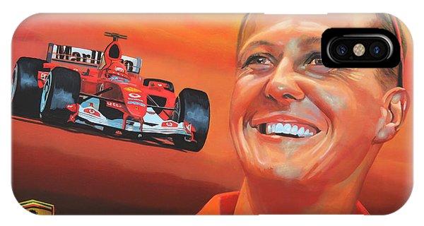Michael Schumacher 2 IPhone Case