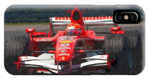 Michael Schumacher Canadian Grand Prix I IPhone Case