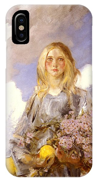 Girls In Pink iPhone Case - Michaelmas by James Shannon