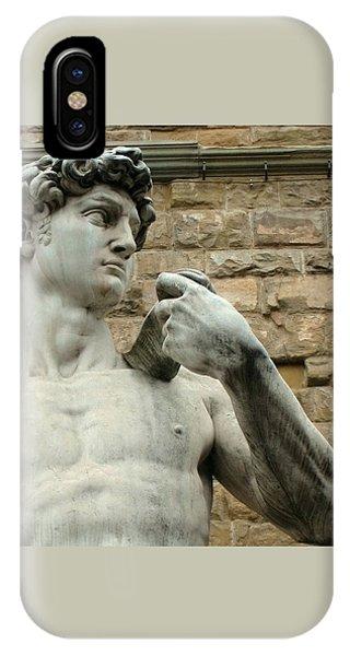 Michelangelo's David 1 IPhone Case