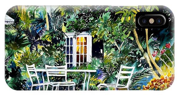 Michelle And Scott's Key West Garden IPhone Case