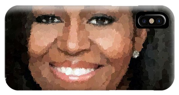 Michelle Obama IPhone Case