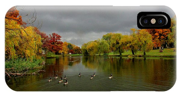 Michigan Autumn IPhone Case