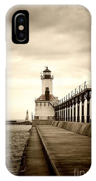 Michigan City Lighthouse IPhone Case