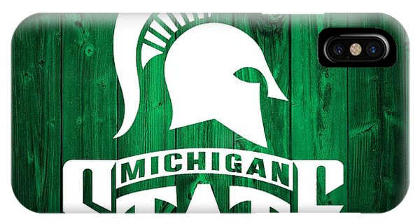 Michigan State Barn Door IPhone Case