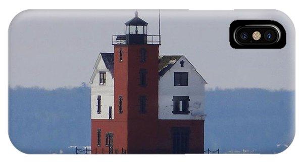 Michigan's Round Island Lighthouse IPhone Case
