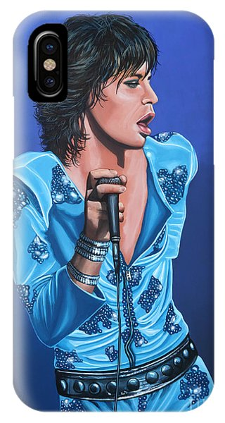 The iPhone Case - Mick Jagger by Paul Meijering