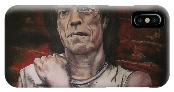 Mick Jagger - Street Fighting Man IPhone Case