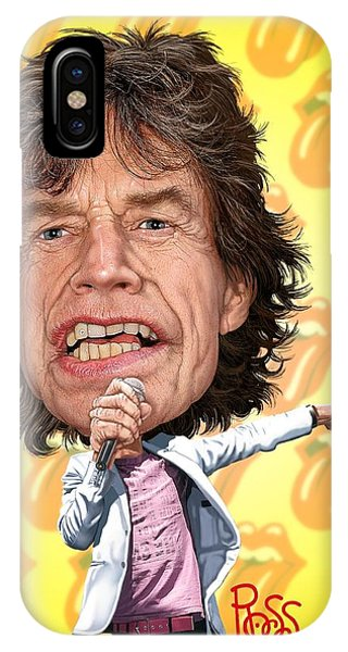 Mick Jagger IPhone Case