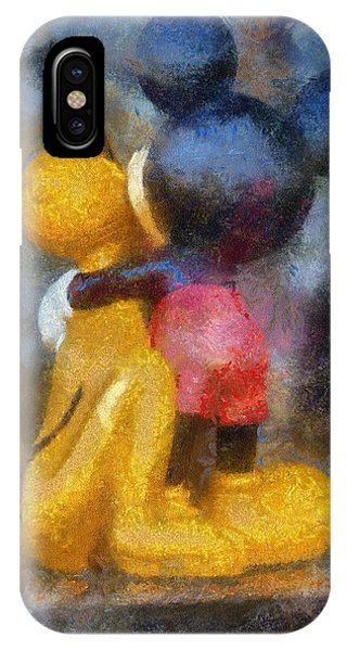 Mickey Mouse Photo Art IPhone Case