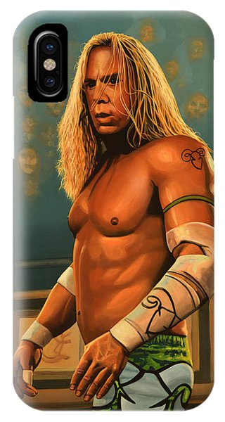 Spin iPhone Case - Mickey Rourke by Paul Meijering