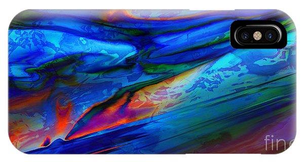 Micro Intensity Of Melancholy Flicker IPhone Case