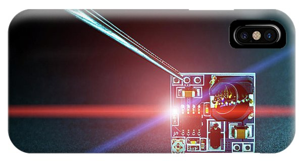 Microchip On Printed Circuit Board IPhone Case