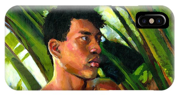 Micronesia iPhone Case - Micronesia by Douglas Simonson