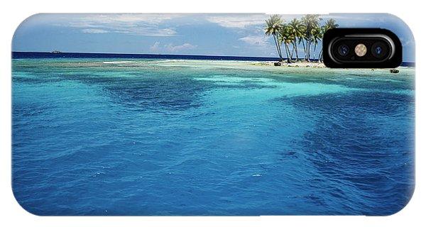 Micronesia iPhone Case - Micronesia, Tonowas, View Of Idyllic by Stuart Westmorland