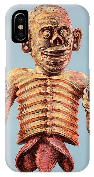 Mictlantecuhtli The Aztec God Of The Dead IPhone Case